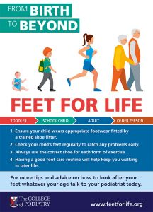 Feet for Life month